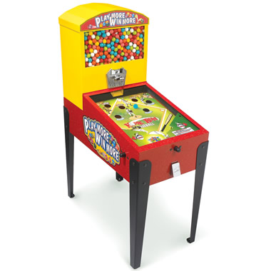 The Gumball Pinball Machine.