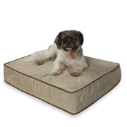 The Temperature Regulating Pet Bed.