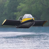 The Flying Hovercraft.