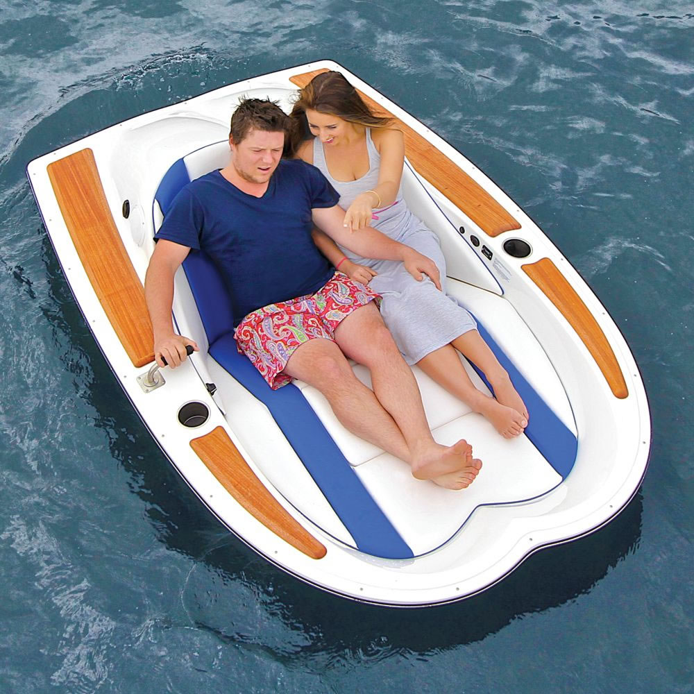 The Electric Motorboat Hammacher Schlemmer
