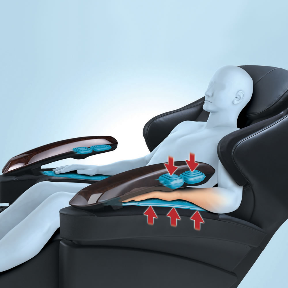 The Invigorating Touch Full Body Massage Chair 3