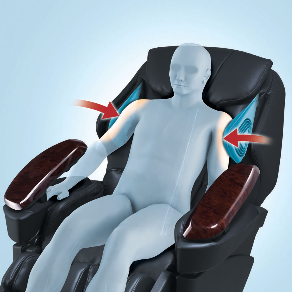 The Invigorating Touch Full Body Massage Chair 4