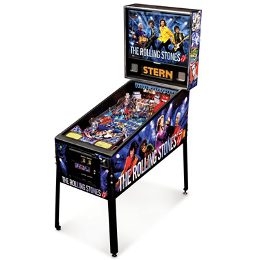 The Rolling Stones Pinball Machine.