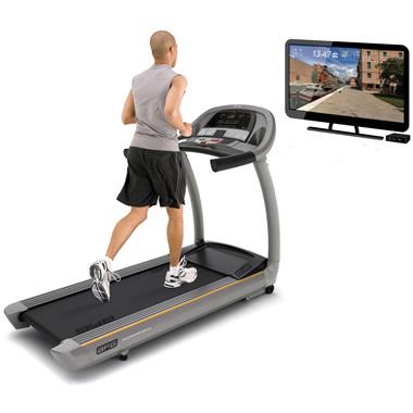 The Virtual Reality Treadmill.