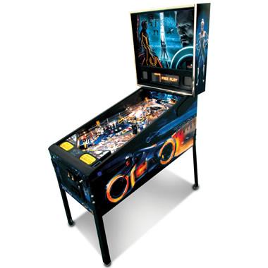 The Tron Legacy Pinball Machine.