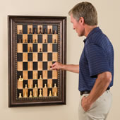The Vertical Chess Set.