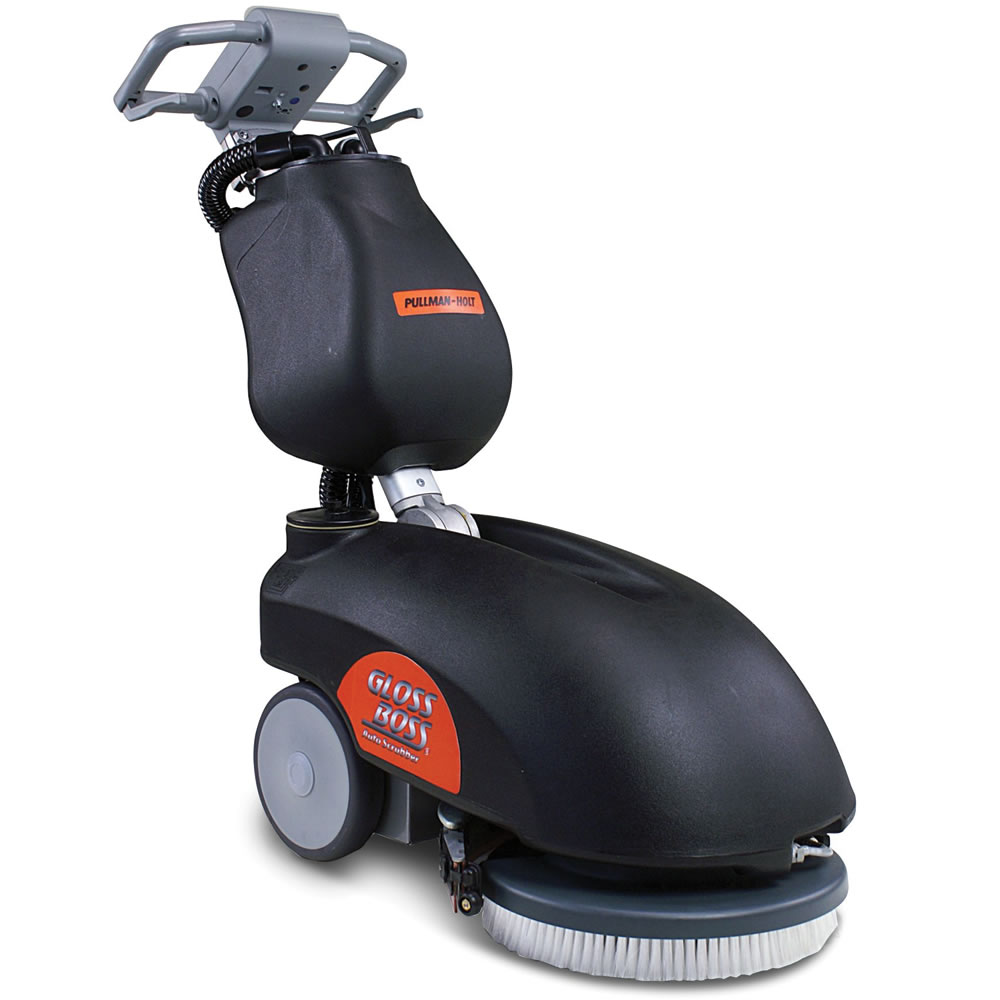 The cordless commercial floor scrubber hammacher schlemmer for Floor scrubber