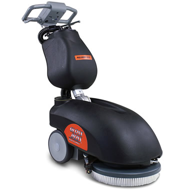 The Cordless Commercial Floor Scrubber.