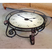 The Analog Clocktail Table.