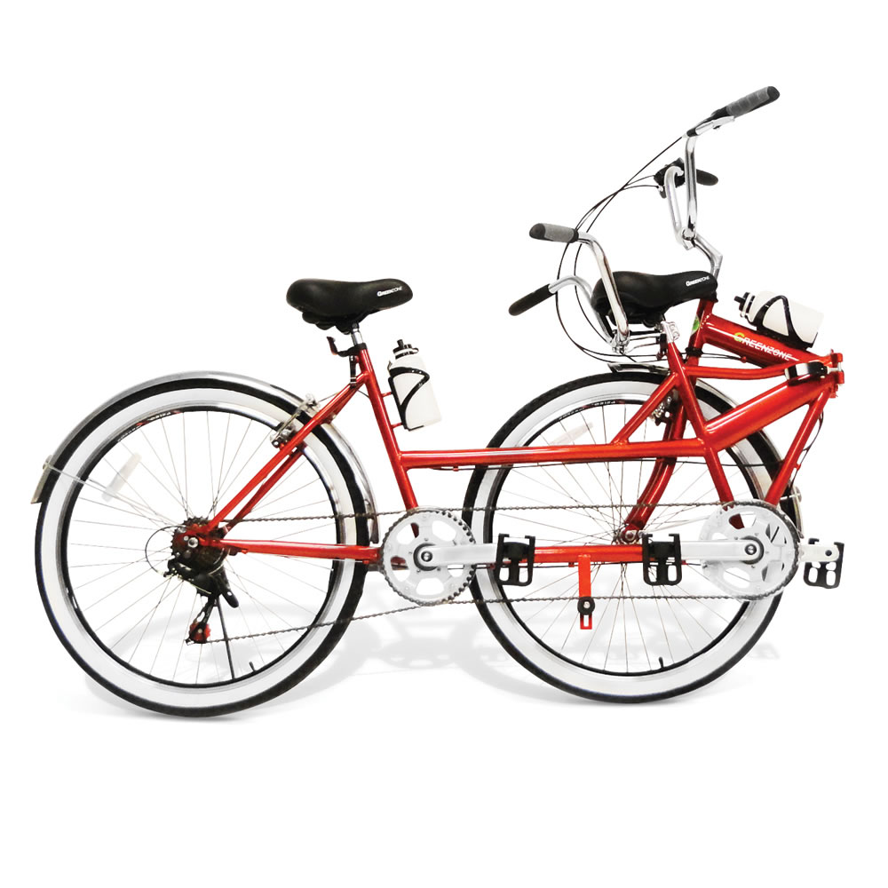 The Folding Tandem Bicycle 2