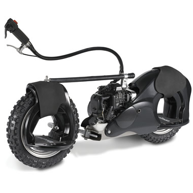 The 20 MPH Motorized Wheelrider (Black).
