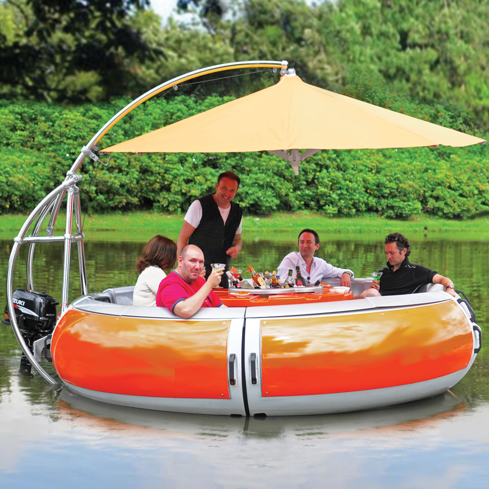 The Barbecue Dining Boat1