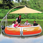 The Barbecue Dining Boat.