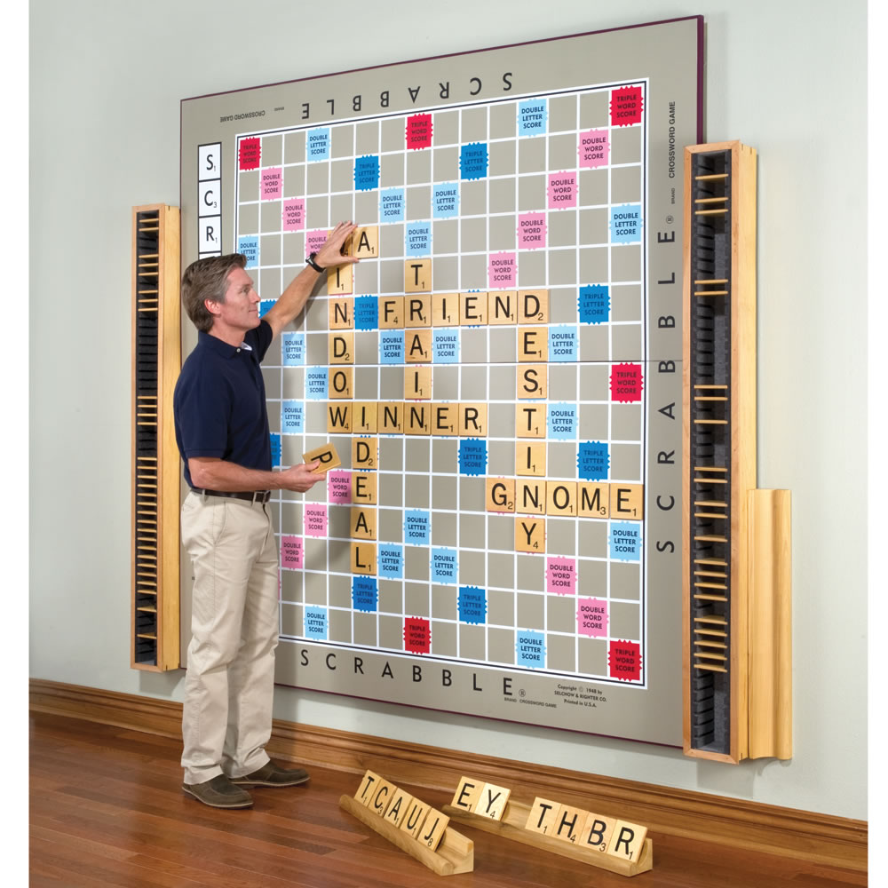 Cool Things To Put In A Basement: The World's Largest Scrabble Game