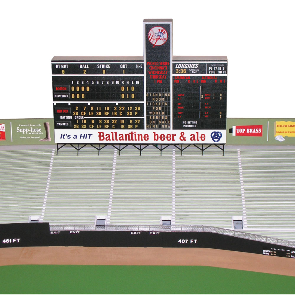 The Museum Quality 1/8 Scale 1961 Yankee Stadium 3