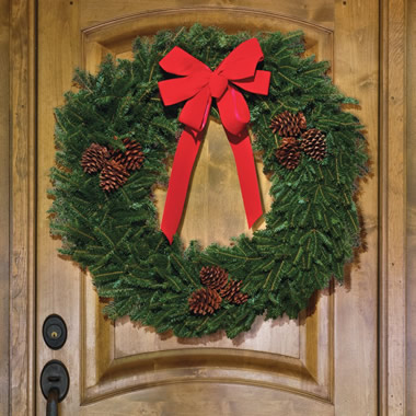 The Fresh Fraser Wreath.