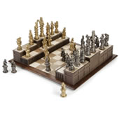 The Barrister�s Chess Set.