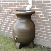 The Canadian Year Round Rain Barrel.
