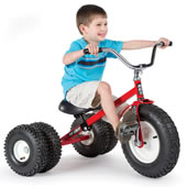 The All Terrain Dually Tricycle.