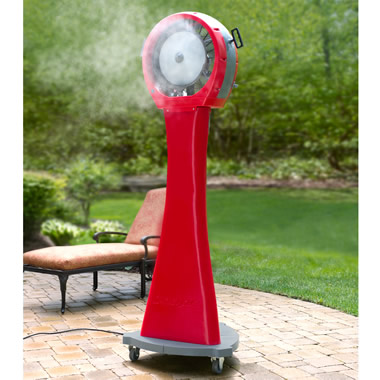 The 21 Gallon Portable Misting Fan.