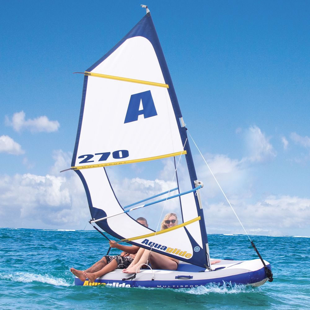 The Inflatable Windsurfer And Sailboat 2