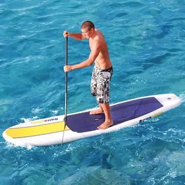The Ku Hoe He'e Nalu Inflatable Board.