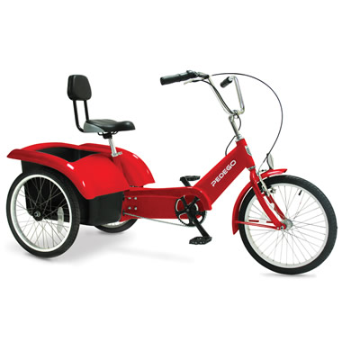 The Beachcombing Electric Tricycle.