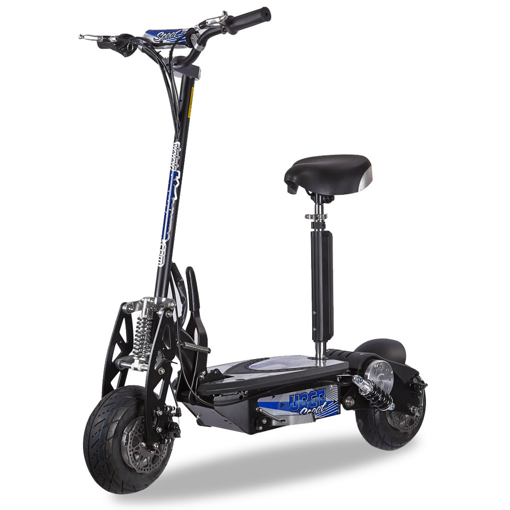 The 26 MPH Electric Scooter - Hammacher Schlemmer