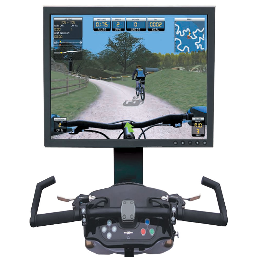 The Virtual Mountain Bike Racing Simulator 2