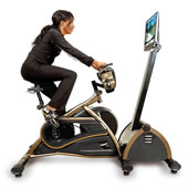 The Virtual Mountain Bike Racing Simulator.