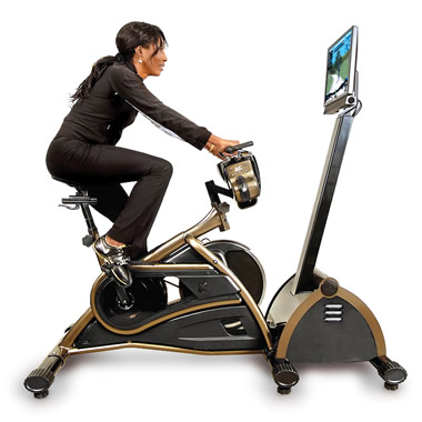 The Virtual Mountain Bike Racing Simulator