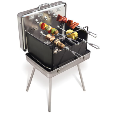 The Brazilian Barbecue Briefcase.