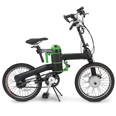 The Folding Electric Bicycle.