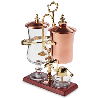The Genuine Balancing Siphon Coffee Maker.