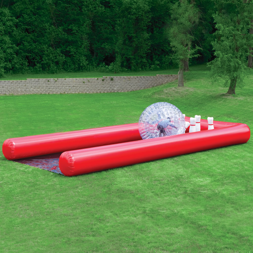 The Human Bowling Ball 2