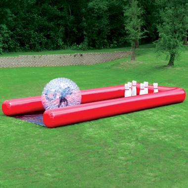 The Human Bowling Ball.