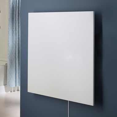 The Wall Mounted Thin Panel Infrared Heater.