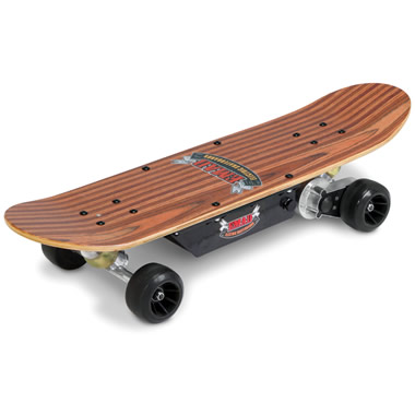 The 8 MPH Electric Skateboard.
