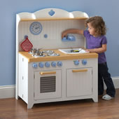 The Young Chef's Foldaway Kitchen Playset.
