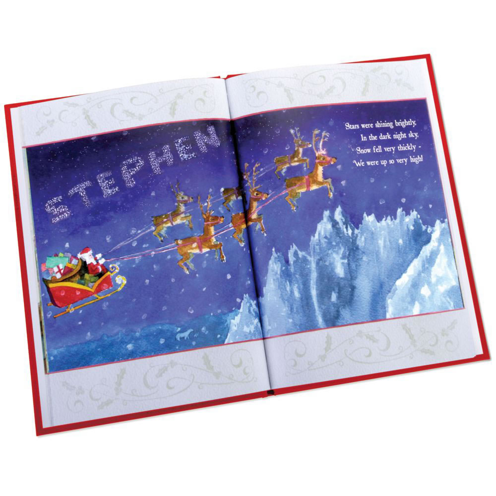 Santa's Personalized Christmas Book 1