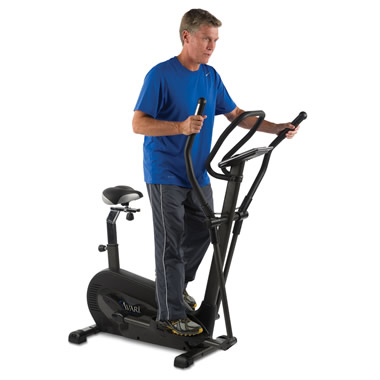 The Standing or Seated Elliptical Machine.