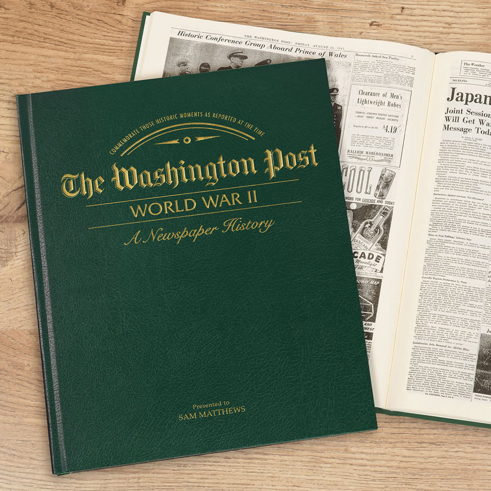 The Original WWII Articles Of The Washington Post 1