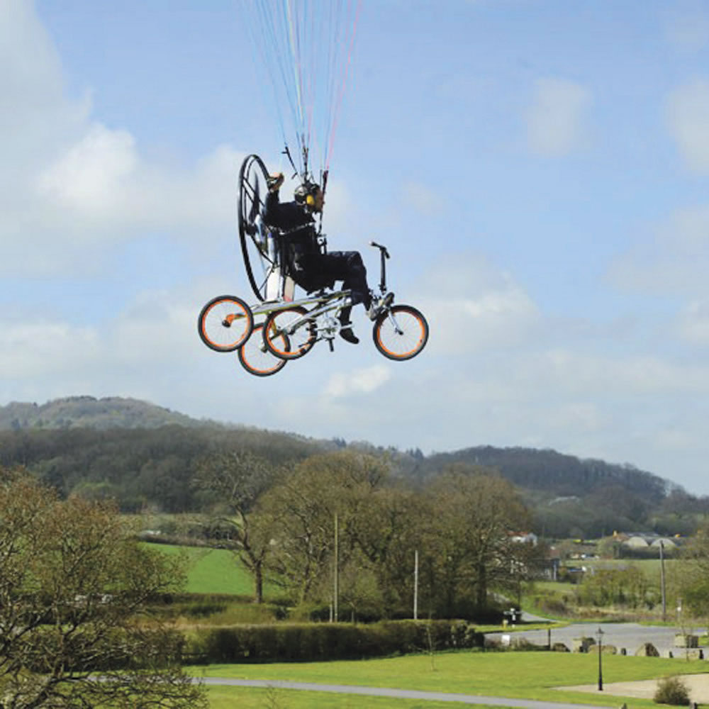 flying bike