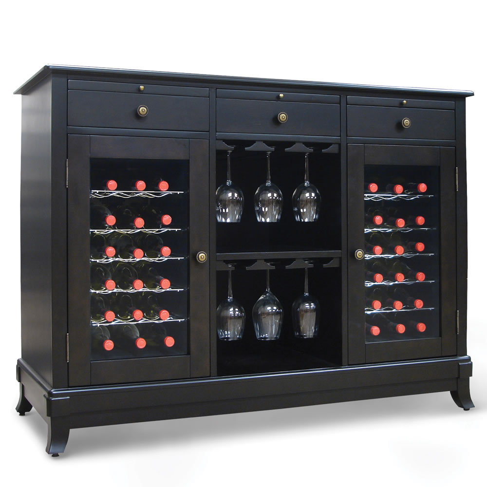 The Sommelier's Dual Temperature Wine Credenza 4