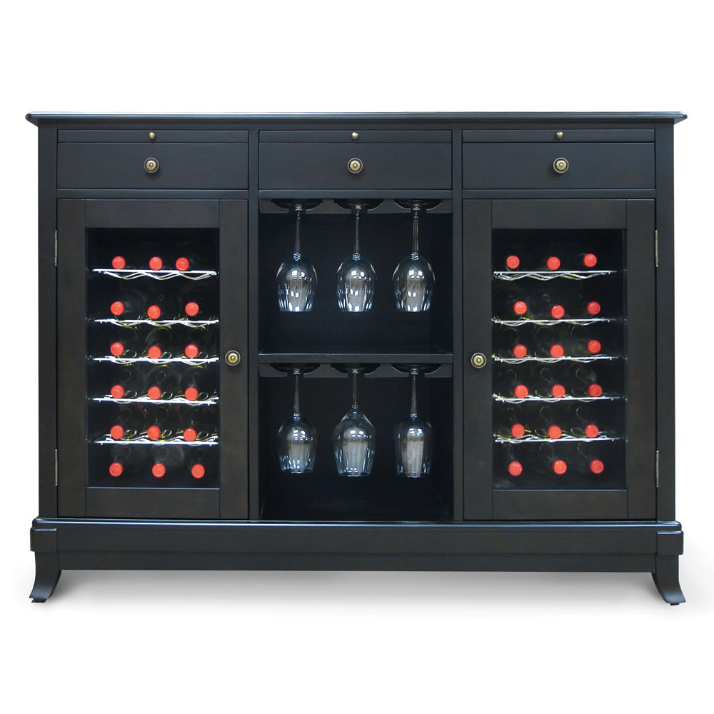 The Sommelier's Dual Temperature Wine Credenza 5