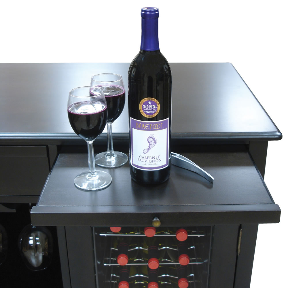 The Sommelier's Dual Temperature Wine Credenza 7