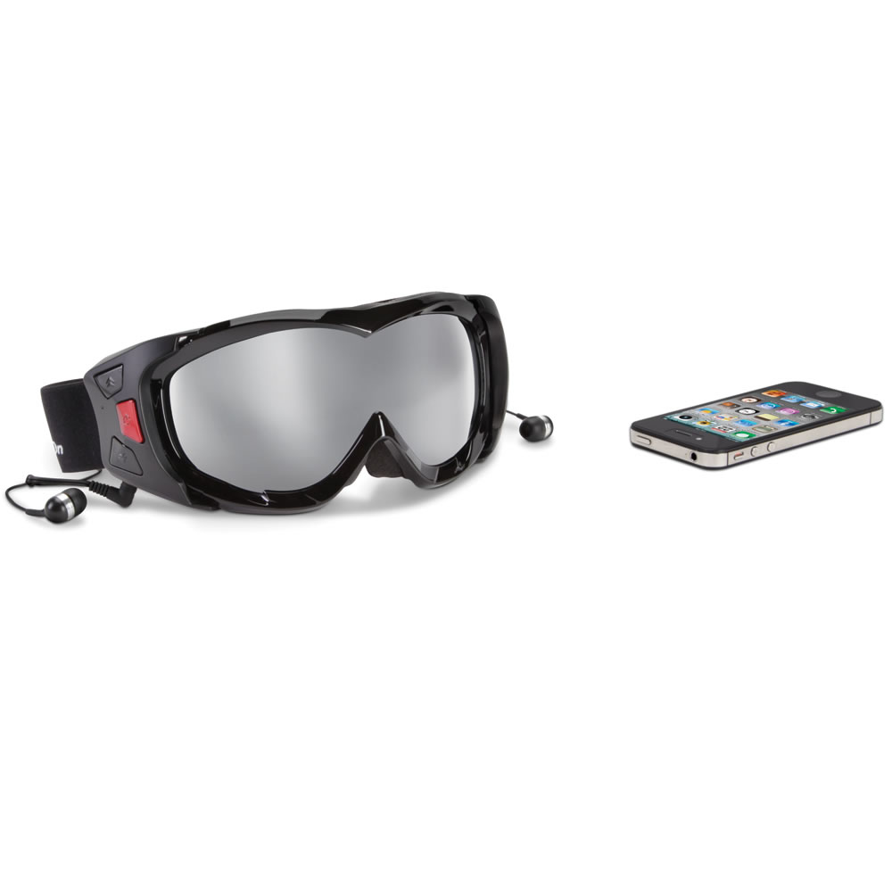 Voice Communicating Ski Goggles