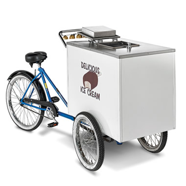 The Genuine Good Humor Ice Cream Cart.
