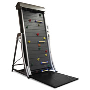 The Climbing Wall Treadmill.