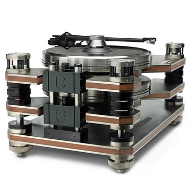 The World's Only Counterbalanced Turntable.